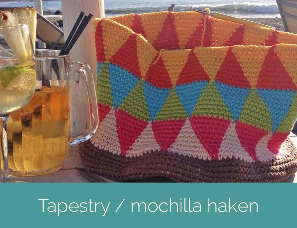 Tapestry / mochilla haken