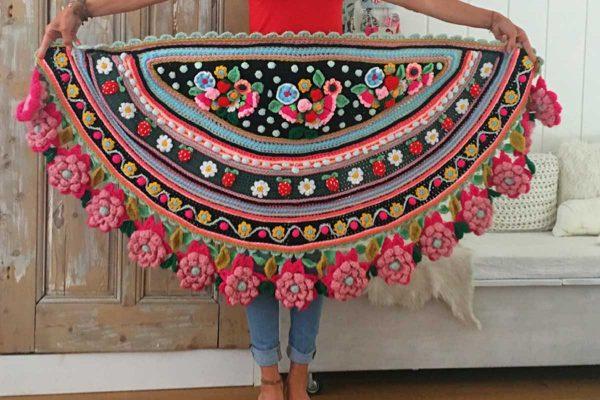 Folclore-sjaal