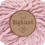 Lammy Yarns Highland 10 - Roze