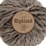 Lammy Yarns Highland 10 - Aarde