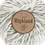 Lammy Yarns Highland 10 - Licht grijs
